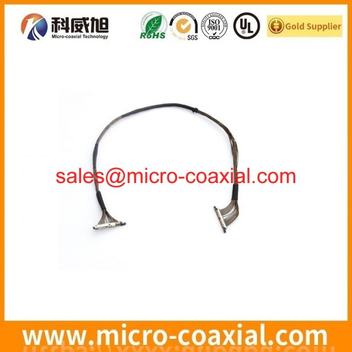 Built I-PEX 20373-020T-05 Micro Coax cable I-PEX 20346-025T-11 V-by-One cable Assembly manufacturer