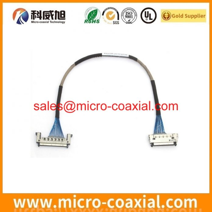 Built I-PEX 20373-R14T-06 Micro-Coax cable I-PEX 20848-030T-01 V-by-One cable Assemblies Manufactory