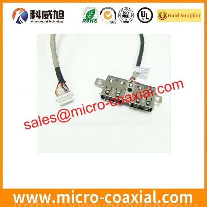 Built I-PEX 20454-220T micro coaxial cable I-PEX 20439-040E-01 dispaly cable assembly factory