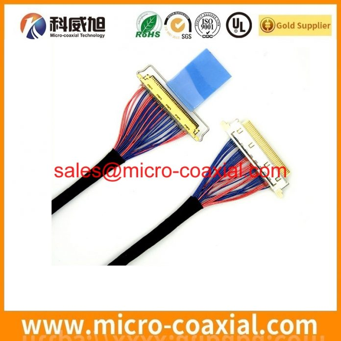 Built I-PEX 20847 micro coax cable I-PEX 20846-040T-01 LCD cable Assembly vendor