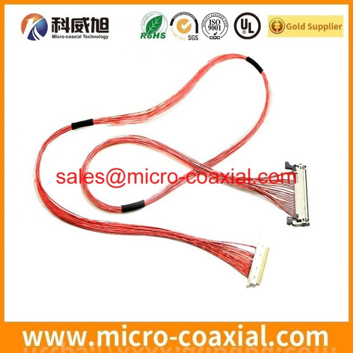 Built TT4761B01-4 TTL cable High-Quality LVDS eDP cable assembly