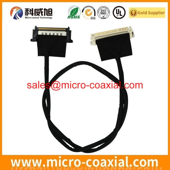 Custom I-PEX 20199 micro-coxial cable I-PEX 20346-010T-11 V-by-One cable Assembly Provider