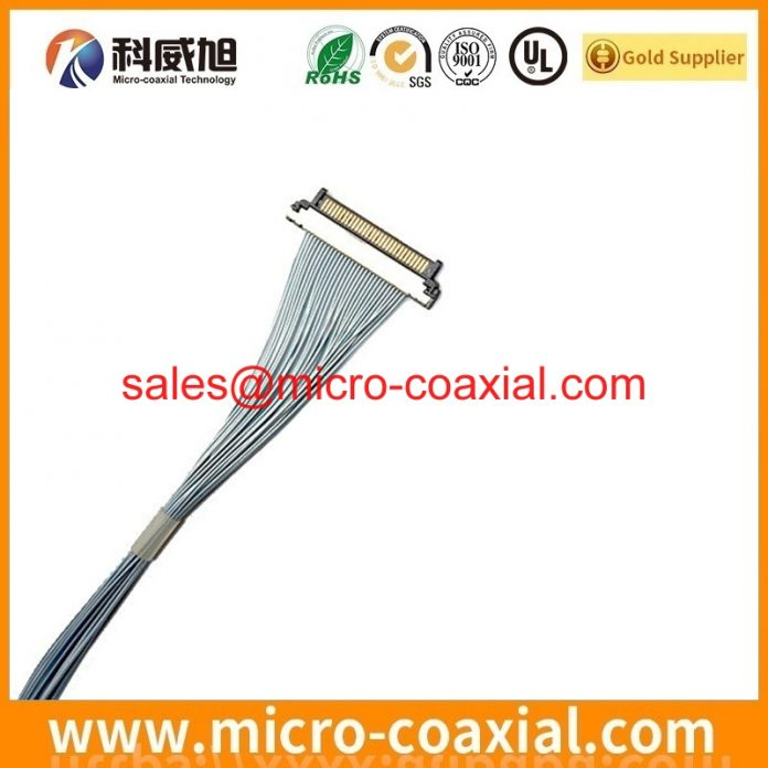 Custom I-PEX 20373-R30T-06 micro coaxial connector cable I-PEX 20835 eDP cable Assembly manufactory