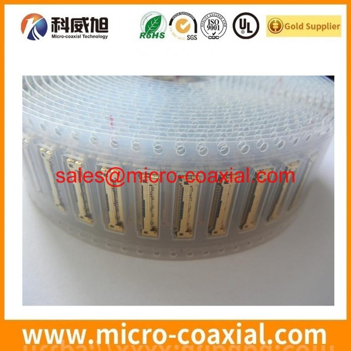 Custom I-PEX 20496-032-40 thin coaxial cable I-PEX 2047 LVDS cable assembly Manufacturing plant.JPG