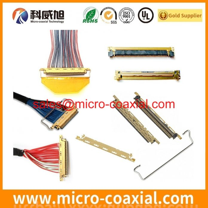 Custom I-PEX 20849 MFCX cable I-PEX 2453-0311 dispaly cable assemblies factory