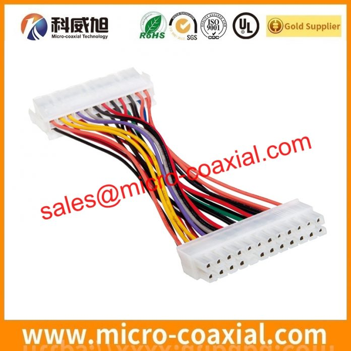 Custom I-PEX FPL II micro coaxial cable I-PEX 20473-040T-10 lcd cable assembly Factory
