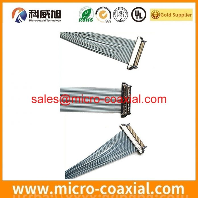 Custom LC201V02-SDA1 V-by-One cable high quality LVDS eDP cable Assemblies