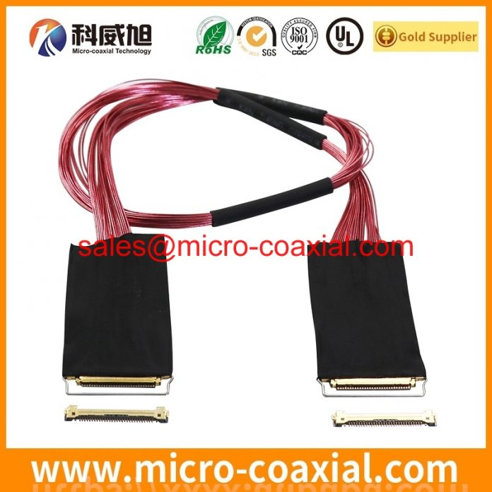 Custom LM201W01-SLA1 TTL cable High Reliability LVDS cable eDP cable assemblies