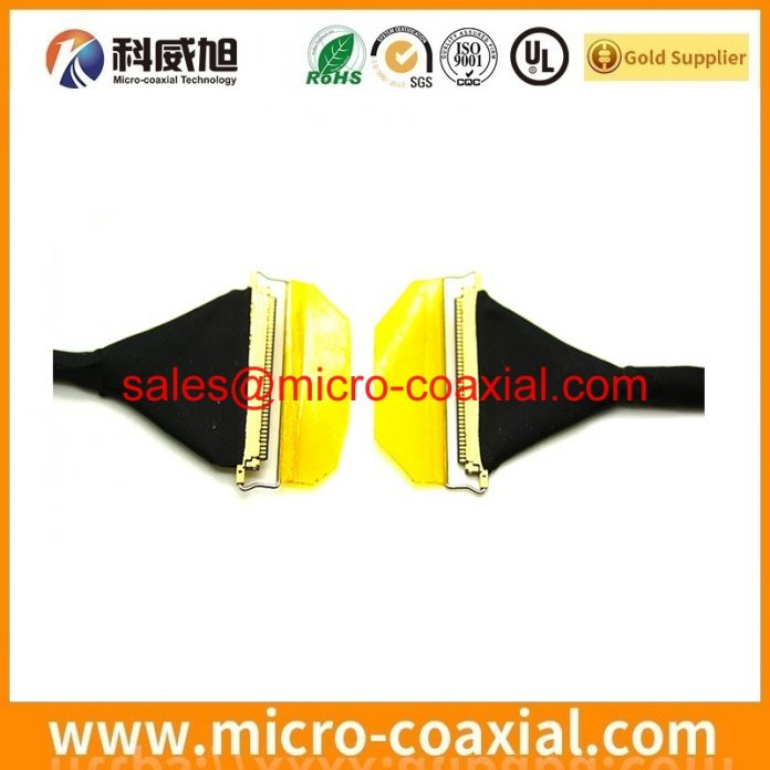 Custom LTM10C0021 V-by-One cable high quality LVDS eDP cable Assemblies