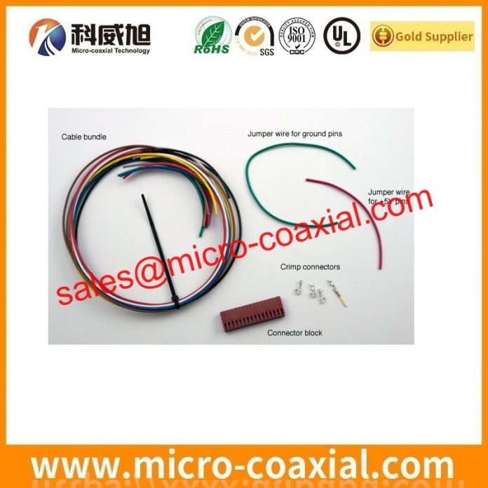 Custom LTN101NT07-801 MIPI cable High Reliability eDP LVDS cable assembly