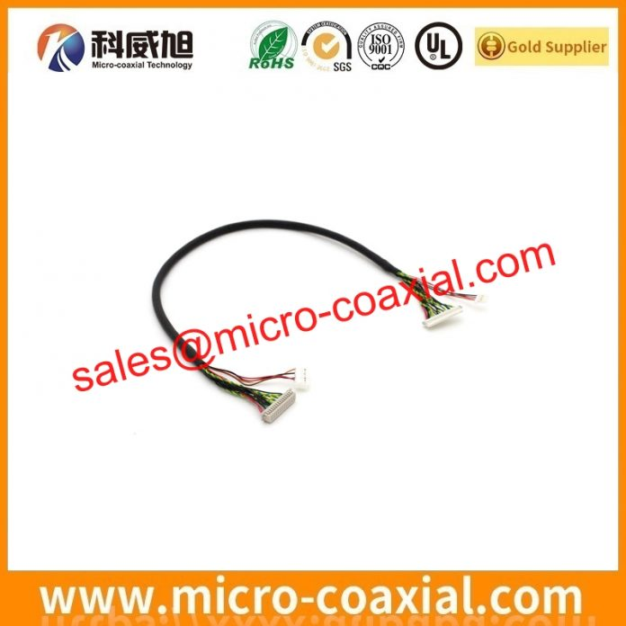Custom PD104SLB LVDS cable High quality LVDS eDP cable Assembly