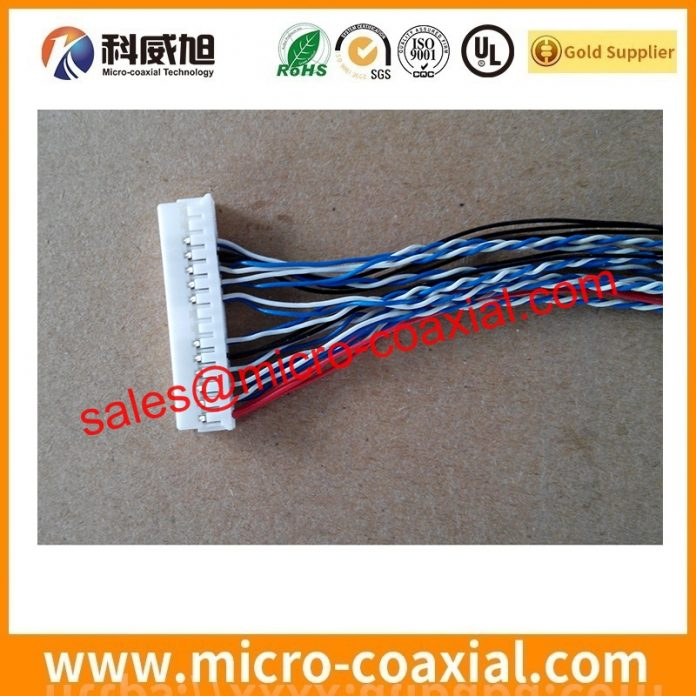 I-PEX 1866-410T micro flex coaxial cable assemblies widly used Oil Field Equipment Manufactured I-PEX 20473 eDP LVDS cable india