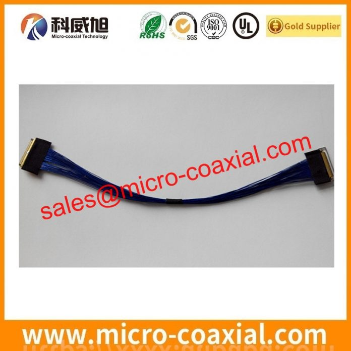 I-PEX 1968 micro-coxial cable assemblies widly used Medical Instrumentation customized I-PEX 1978-0301S eDP LVDS cable india