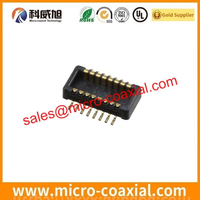 I-PEX 20142-020U-20F MCX cable Assemblies widly used Oil Field Equipment customized I-PEX FPL-D eDP LVDS cable UK