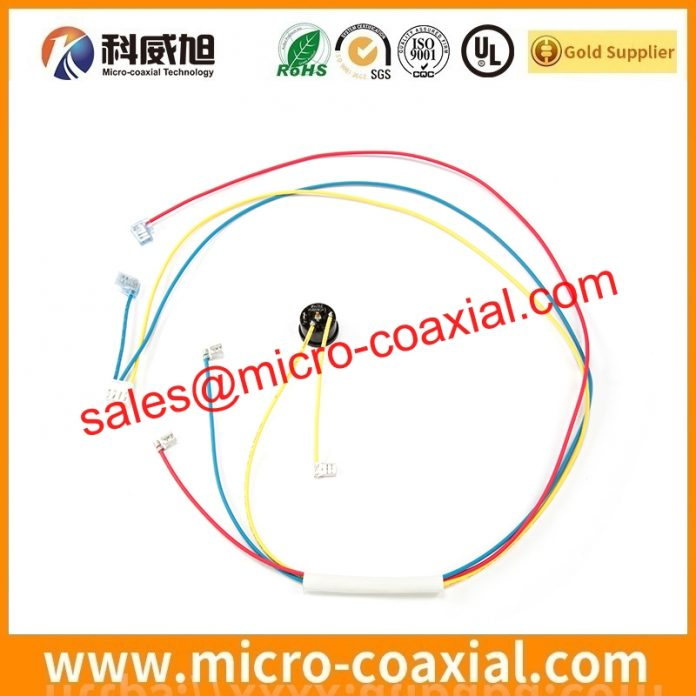 I-PEX 20319 micro coax cable Assembly widly used Automotive Transportation Custom I-PEX 20454-250T LVDS cable eDP cable india