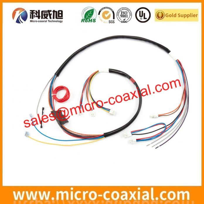 I-PEX 20345-020T-32R fine micro coaxial cable Assemblies widly used Test Measurement Equipment Built I-PEX 20847-030T-01 LVDS cable eDP cable China