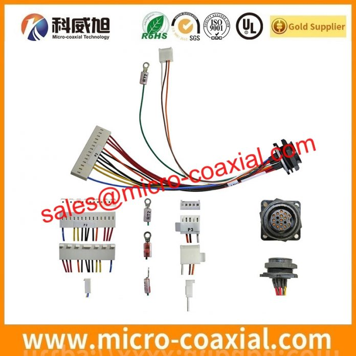 I-PEX 20345-025T-32R Micro-Coax cable assembly widly used Smart Appliances Custom I-PEX 20533-050E LVDS eDP cable USA