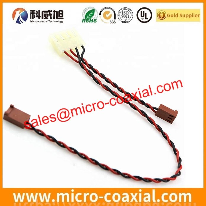 I-PEX 20345-025T-32R micro flex coaxial cable assemblies widly used Oil Field Equipment customized I-PEX 20455-030E LVDS cable eDP cable USA