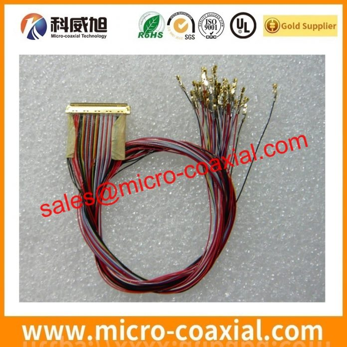 I-PEX 20346-035T-02 thin coaxial cable Assemblies widly used Military Aerospace Applications custom I-PEX CABLINE-UA II eDP LVDS cable Germany