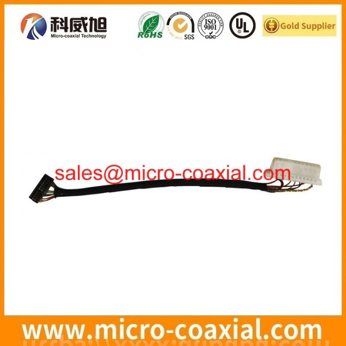 I-PEX 20422-021T fine wire cable Assemblies widly used Aircraft Cockpit Instrumentation Built I-PEX 20728-040T-01 eDP LVDS cable China