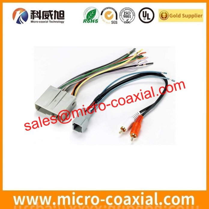 I-PEX 20634-220T-02 micro coaxial cable assembly widly used Smart Phones custom I-PEX 20320 eDP LVDS cable india
