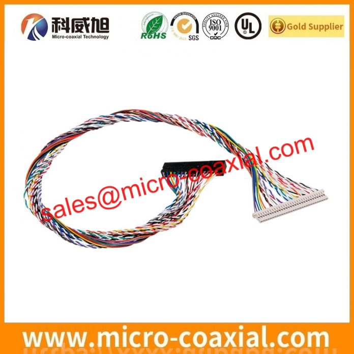 I-PEX 20634-230T-02 board-to-fine coaxial cable assemblies widly used Cell Phones Built I-PEX 3300-0301 LVDS cable eDP cable Taiwan