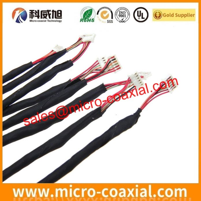 I-PEX 20634-240T-02 micro-miniature coaxial cable Assembly widly used Medical Instrumentation custom I-PEX 20846-040T-01 LVDS cable eDP cable Taiwan