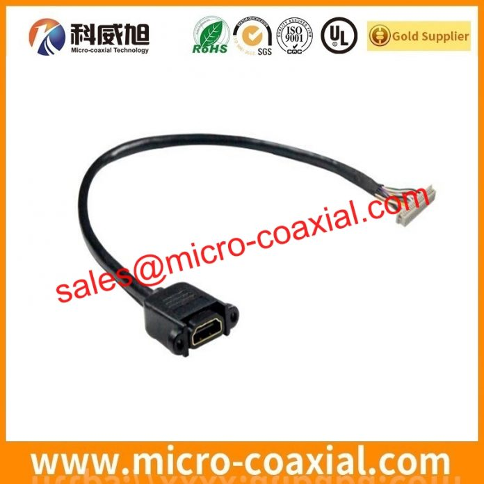 I-PEX 20681-030T-01 thin coaxial cable assembly widly used Industrial Control Equipment Manufactured I-PEX 3204-0601 LVDS cable eDP cable USA