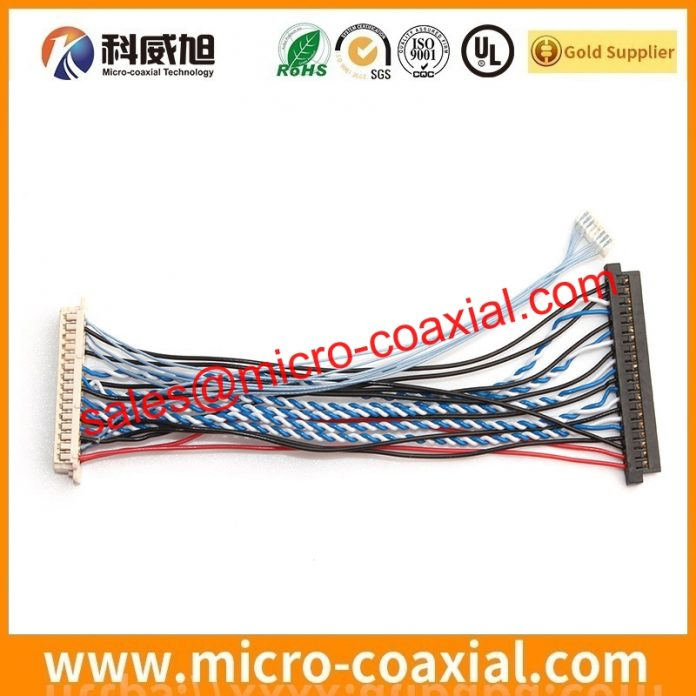 I-PEX 20729 MFCX cable assembly widly used Automotive Transportation Manufactured I-PEX 20324-040E-11 LVDS cable eDP cable Taiwan