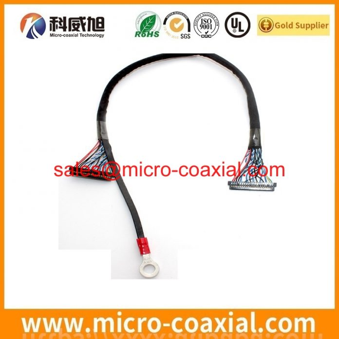 I-PEX 20788 micro coaxial cable assembly widly used Consumer Products Manufactured I-PEX 20497-032T-30 LVDS cable eDP cable China