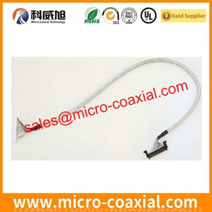 I-PEX 20844-040T-01-1 micro-miniature coaxial cable Assemblies widly used Flight Control Systems Built I-PEX CABLINE-CBL LVDS eDP cable USA