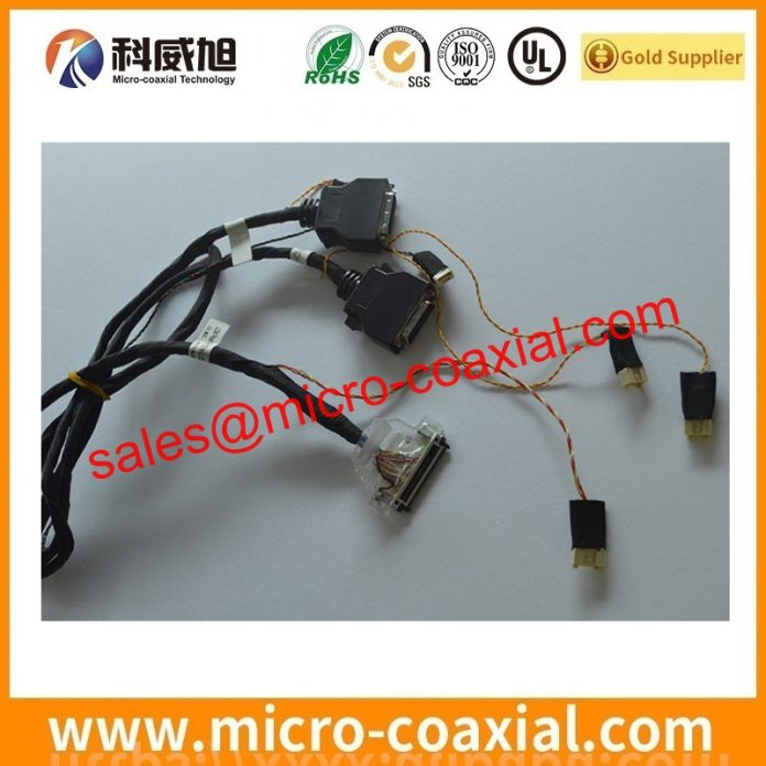 I-PEX 2574-1403 board-to-fine coaxial cable Assemblies widly used Digital Video Camera customized I-PEX 20345-020T-32R eDP LVDS cable india