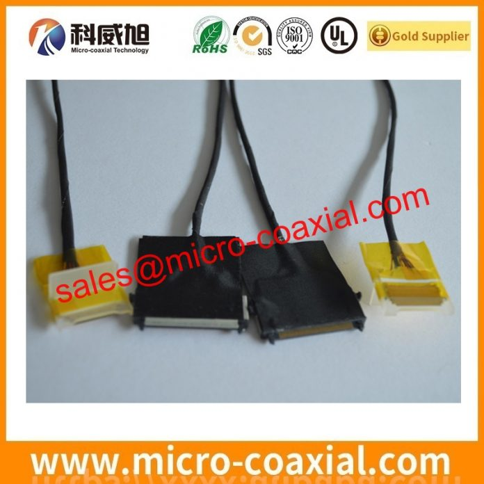 I-PEX 2574 fine wire cable Assembly widly used Smart Appliances Manufactured I-PEX 20496-032-40 eDP LVDS cable Chinese