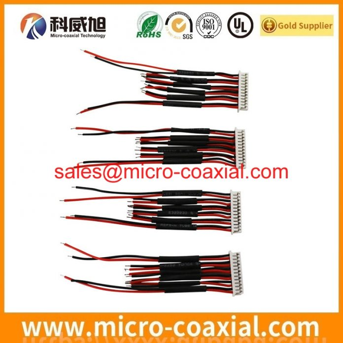 I-PEX 2576-120-00 MFCX cable assemblies widly used Smart Appliances custom I-PEX 20505-044E-01G LVDS eDP cable india