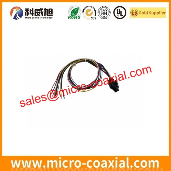 I-PEX 2619 micro coax cable assembly widly used Consumer Products custom I-PEX 20472-040T-20 eDP LVDS cable Germany