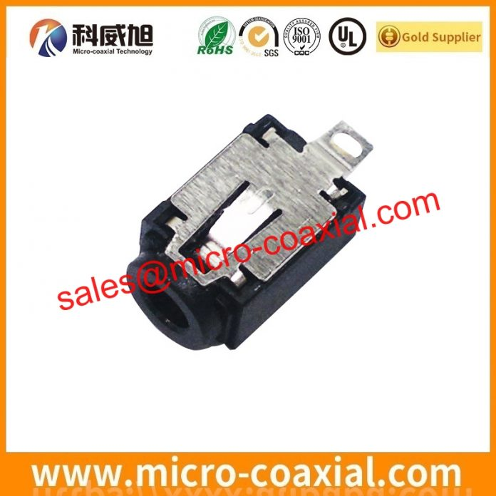 I-PEX 2764-0401-003 micro coaxial connector cable Assembly widly used Industrial Applications Manufactured I-PEX 20438-040T-11 eDP LVDS cable UK
