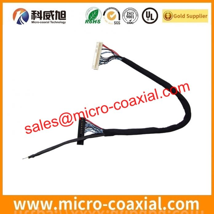 I-PEX FPL II fine micro coax cable Assemblies widly used Excersize Equipment Manufactured I-PEX 20454-330T LVDS eDP cable Taiwan