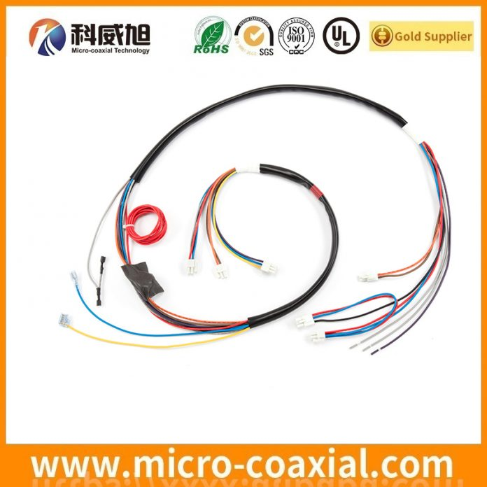 Manufactured I-PEX 20227-020U-21F MCX cable I-PEX 2047-0351 V-by-One cable Assemblies provider