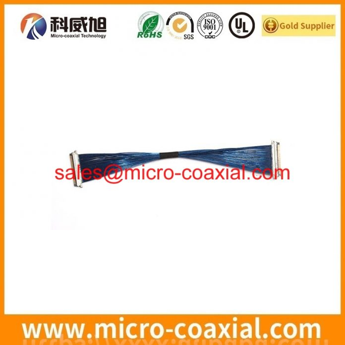 Manufactured I-PEX 20346-030T-31 fine micro coax cable I-PEX 20373-R30T-06 lvds cable Assembly Factory