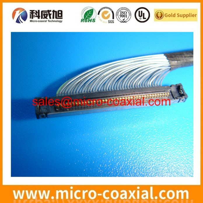 Manufactured I-PEX 20679-030T-01 micro flex coaxial cable I-PEX 20374-R35E-31 Display cable Assemblies Factory.JPG
