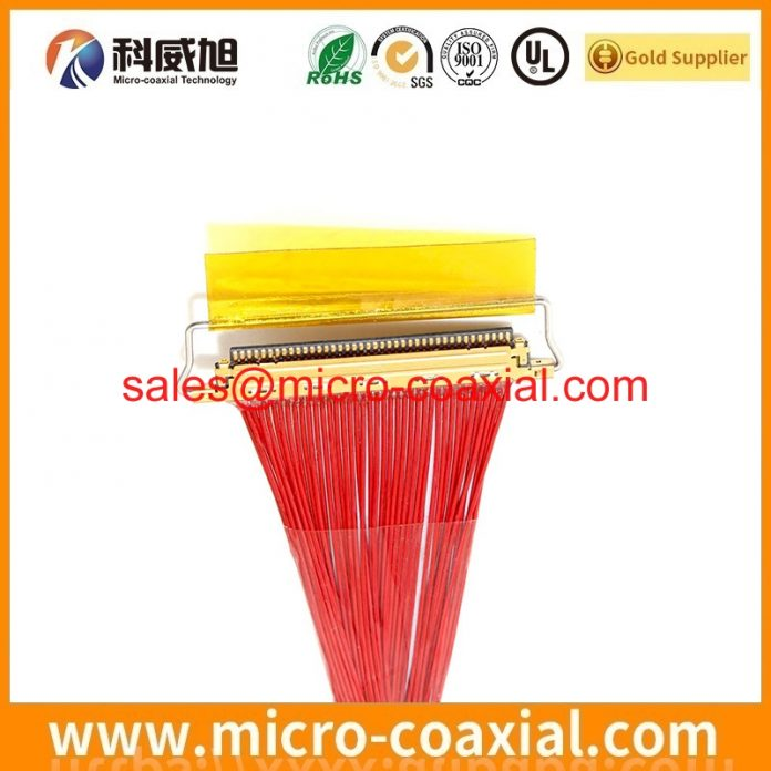 Manufactured I-PEX 20728-040T-01 Fine Micro Coax cable I-PEX 20346-030T-32R Panel cable assembly Manufacturer
