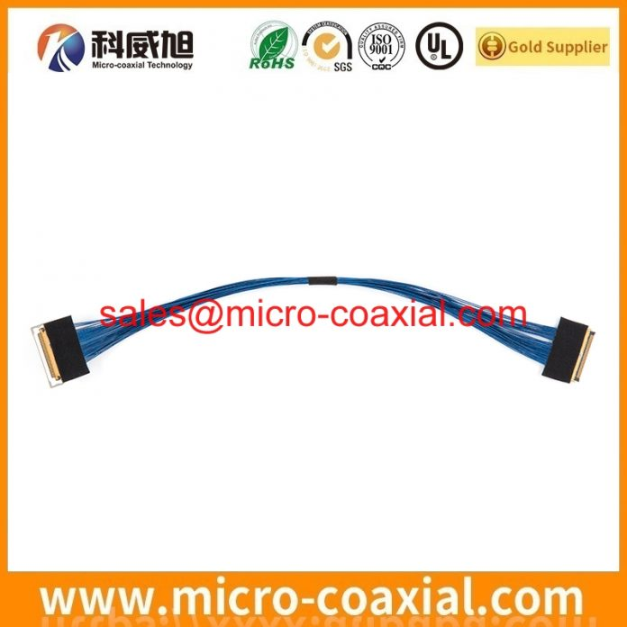 Manufactured LTA550HJ12 LVDS cable High quality eDP LVDS cable assembly