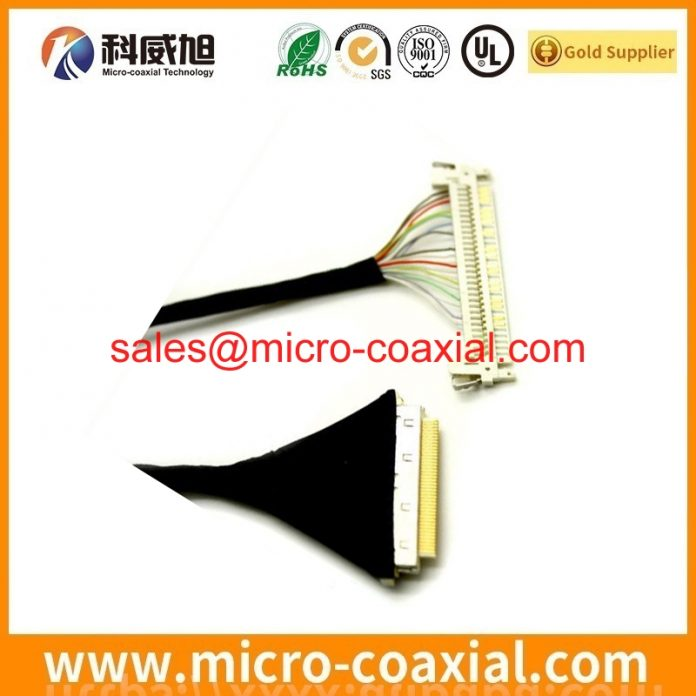 Manufactured LTN154X3-L01-H TTL cable High Reliability eDP LVDS cable assembly