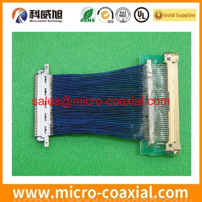 Professional DF36-20P-0.4SD(55) fine pitch cable supplier High Reliability I-PEX 2182-010-03 india factory