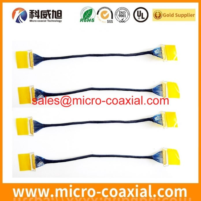 Professional DF81-40P-LCH(52) Fine Micro Coax cable Supplier high quality DF81-50S-0.4H(52) india factory