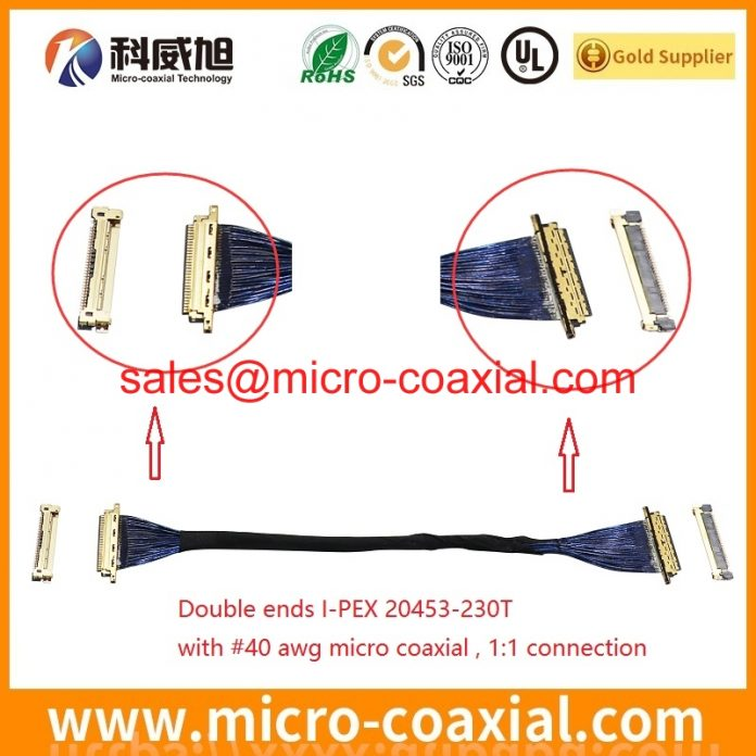 Professional DF81-40P-SHL(52) Fine Micro Coax cable Manufacturer High-Quality I-PEX 20319-040T-11 Chinese factory