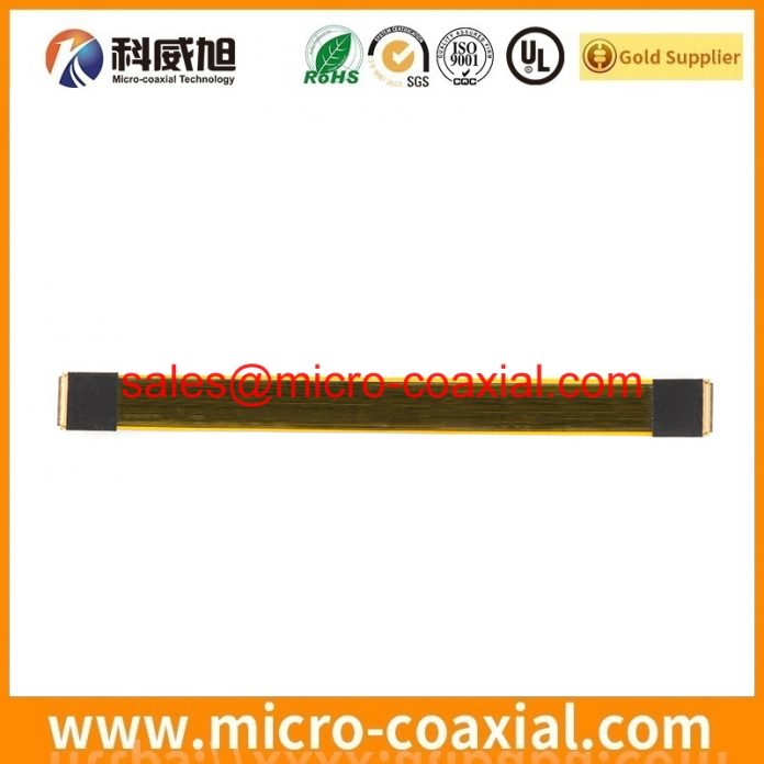 Professional FX16M2-51S-0.5SH fine micro coaxial cable supplier High Reliability I-PEX 2182-032-03 Germany factory