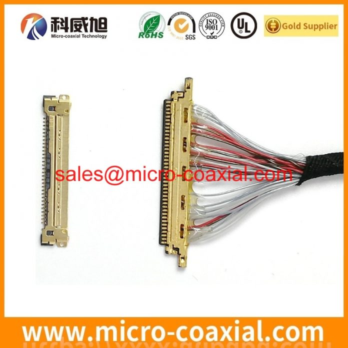 Professional I-PEX 20373-R32T-06 Micro Coax cable manufacturing plant high quality SSL00-40S-0500 China factory