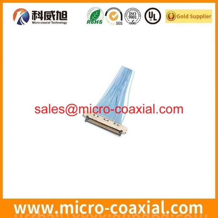 Professional I-PEX 20380-R10T-06 micro flex coaxial cable manufacturer High quality FI-W5P-HFE-E1500 Germany factory