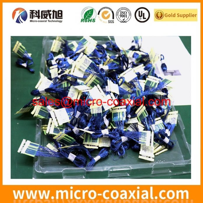 Professional I-PEX 20408-Y44T-01F micro coax cable supplier high quality DF81DJ-30P-0.4SD(51) Chinese factory